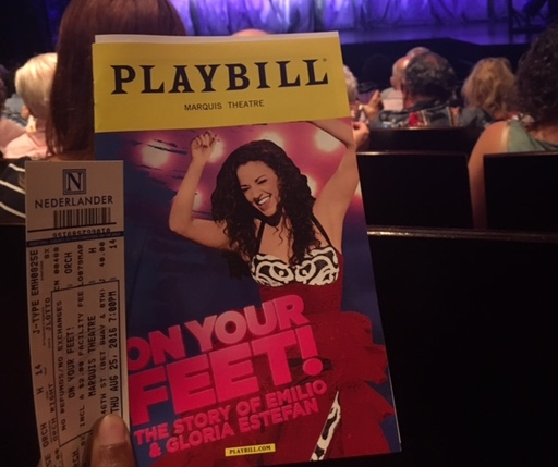 Review: On Your Feet! The Story of Emilio and Gloria Estefan, Marquis Theatre