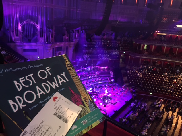 Royal Philharmonic Orchestra Presents: Best of Broadway, Royal Albert Hall