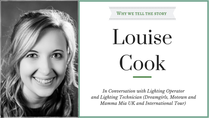 Why We Tell The Story: In Conversation with LouiseCook