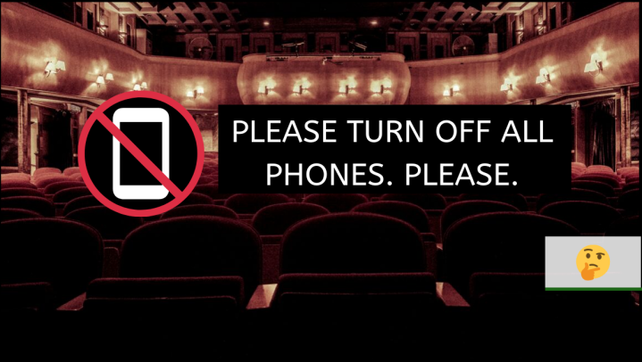 It's Time to Stop Recording Live Theatre Performances